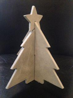 Merry Christmas mal anders- Baum aus Feinbeton von Das Eine und Das Andere auf DaWanda.com