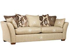 Reims 4 seater sofa (pillow back) Grade A | All Ranges | Cousins Furniture