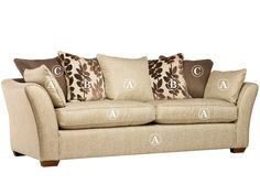 Reims 4 seater sofa (pillow back) Grade A | All Ranges | Cousins Furniture