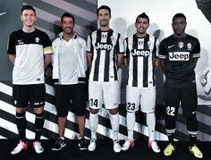 Juventus kits for 2012/13