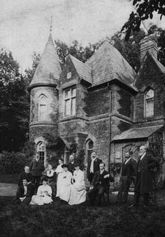 Victorian family house, ca.1880's.