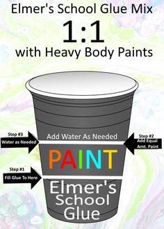 Rick Cheadle is creating Fluid Art / Acrylic Pouring Pour Painting Techniques, Acrylic Pouring Techniques, Acrylic Pouring Art, Acrylic Art, Glue Art, Glue Painting, Body Painting, Paint Pouring Medium, Elmer's School Glue
