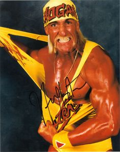 Hulk Hogan, actor and wrestler