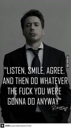 "Inspirational Quotes About Robert Downey Jr ""Happiness is letting go of what you think your life is supposed to look like and celebrating it for everything that it is. Great Motivational Quotes, Great Quotes, Quotes To Live By, Me Quotes, Funny Quotes, Inspirational Quotes, Meaningful Quotes, Qoutes, Famous Quotes"