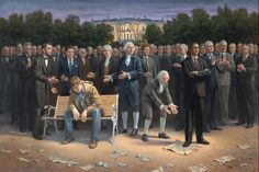 """Wow – Sean Hannity Purchases Original """"The Forgotten Man"""" as Gift For President Elect Donald Trump… 