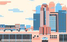 ZIRMA, the city. on Behance