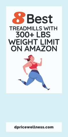 Here are some of the best treadmills for those that weight 300+ lbs on Amazon. Each treadmill has at least a 4 star rating. #treadmill #cardio #weightloss #fitness #dpricewellness Diet Plans To Lose Weight, Want To Lose Weight, Weight Loss For Women, Weight Loss Tips, Good Treadmills, Health And Wellness Coach, Star Rating, Weight Loss Inspiration