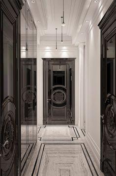 Interior Design,Architecture,Visual Effects Luxury Homes Interior, Home Interior Design, Floor Design, House Design, Architecture Design, Foyer Flooring, Luxury Flooring, Foyer Decorating, Canvas Home