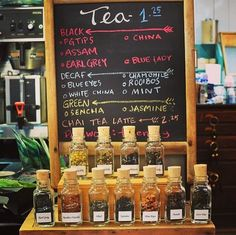 For all our tea drinkers we have a brand new selection! Art In The Age, Tamworth, Chai, Chalkboard Quotes, Art Quotes