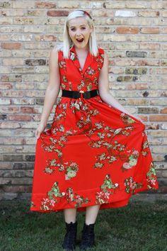 Marilyn Style: Home Sewn #vintage #70s #ootd #fashionblog #homesewn