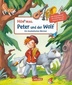 Klassische Musik für Kinder: Bei 'Peter und der Wolf' wird mein Jüngster ganz ruhig. Bilderbuch Rezension von @juliliest Books To Buy, New Books, Books To Read, Reading Games, What Book, Best Selling Books, Classic Books, Antique Books, Book Recommendations
