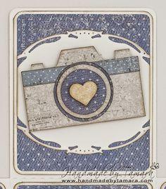 Handmade by Tamara: Vintage at Deep Ocean Challenge blog