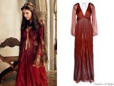 Diane von Furstenberg Kesh Dotted Maxi Dress.