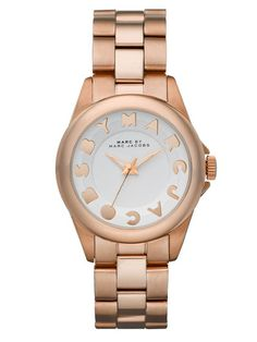 Women's Rose Gold Watch by Marc by Marc Jacobs Watches on Gilt