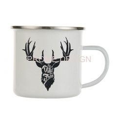 HRNEK PLECHÁČEK - Jelen 36 Mugs, Tableware, Design, Dinnerware, Tumblers, Tablewares, Mug, Dishes