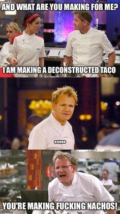 Angry Ramsay is best Ramsay - Funny, Humor, LOL, Pics Gordon Ramsay Quotes, Gordon Ramsay Funny, Chef Gordon Ramsay, Really Funny Memes, Stupid Funny Memes, Funny Laugh, Funny Relatable Memes, Funny Humor, Gorden Ramsey