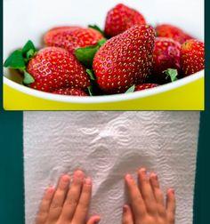 Les fraises se gâchent rapidement... un agriculteur expert nous partage son astuce géniale pour les conserver Strawberry, Desserts, Recipes, Dame Nature, Table, Kitchen Stuff, Christmas Drinks, Cooking Recipes, Preserves