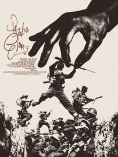 Mondo poster for Kubrick's PATHS OF GLORY.