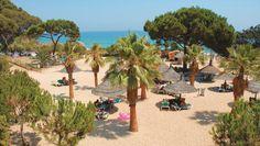 Camping Cala Gogo - Playa d'Aro - Costa Brava - Spanje - Strand. Direct aan zee, aan een prachtige baai.