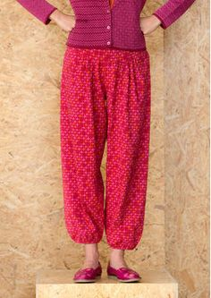 """Trousers """"Plus"""" from organic cotton / spandex 60306_60306-31.jpg"""
