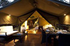 #Glamcamping  #campeggi da favola Camping Glamping, Luxury Camping, Glam Camping, Camping Ideas, Outdoor Spaces, Outdoor Living, Outdoor Life, Tent Living, Outdoor Fun