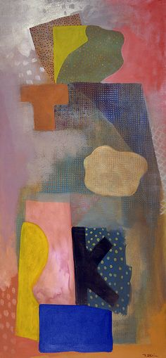 Jewish Angel I Robert Natkin 1991 acryic on canvas 73 x 34 Encaustic Painting, Painting & Drawing, Pop Art, Jonah And The Whale, Colour Field, Jewish Art, Contemporary Paintings, American Artists, Abstract Art