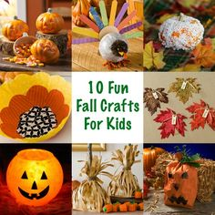 10 of the most fun fall crafts for kids!