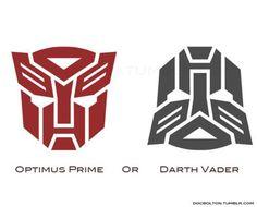 Transformers o starwars ? Transformer Logo, Haha, Marvel, Optimus Prime, Transformers Prime, Transformers Robots, Geek Out, Mind Blown, Nerdy