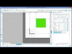 Silhouette - P&C - Impressão X Corte torto - YouTube