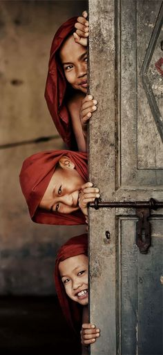 #Burma, children and their innocence with the smile that unites the world