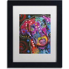 Trademark Fine Art 18 inch Canvas Art by Dean Russo, White Matte, Black Frame, Size: 11 x 14