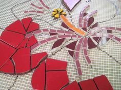 Kefa Mural flowers | Institute of Mosaic Art Mural Making In… | Flickr