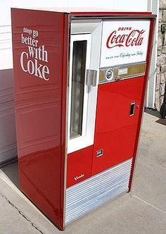 Retro vending machines