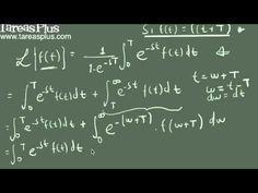 Transformada de laplace de una función periódica parte 1 Thing 1, Arabic Calligraphy, Math Equations, Laplace Transform, Studio, Arabic Calligraphy Art