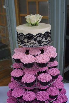 ombre wedding cupcakes wedding
