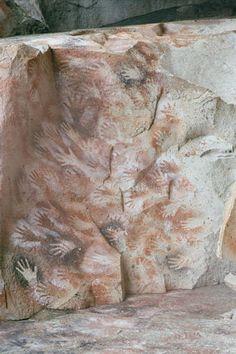 Cueva de las manos, Perito Moreno de la Provincia de Santa Cruz, Argentina