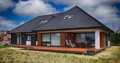 DOM W KOSZALINIE : Modernistyczne domy od Studio Projektowe Projektive