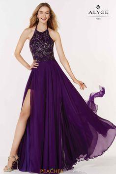 Alyce Paris Halter Beaded Dress 2625 Beaded Prom Dress 364467e384b8
