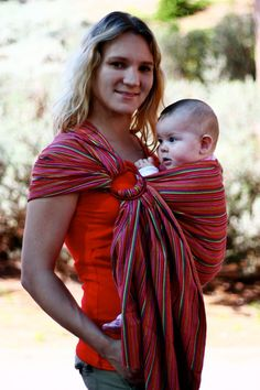 Ring sling  sling for babies  sling for children   by SafySlings, ₪300.00