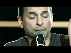 """But before you come to any conclusions, try WALKING IN MY SHOES""""  <3    Depeche Mode - Walking In My Shoes Rehearsals"""