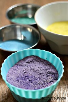 How to make coloured sand - a quick and easy sensory play recipe, great for kids art activities. Art Activities For Kids, Art For Kids, Crafts For Kids, Diy Colored Sand, How To Make Sand, Sensory Play Recipes, Sand Play, Sand Crafts, Sand And Water