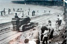 Zalew Zemborzycki Lublin 1974 Poland