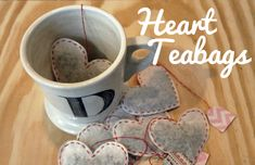 Unusually Lovely: Create Something - Blog - Create HeartTeabags