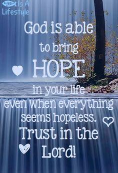 <3 hope <3 More