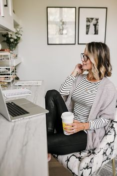 3 WORK FROM HOME OUTFIT IDEAS - my kind of sweet | #ad @nordstrom @ShopStyle fall style | women's fashion | outfit ideas | casual outfits | outfit inspiration | cozy style | stay at home style | work from home mom | mom life | mom style blogger #casualstyle #outfits #outfitideas #womensfashion #style #casualoutfits #styleblogger #momstyle #momlife #workfromhomestyle #workfromhome #stayathomemom #nordstrom #nsale #nordstromanniversarysale Hm Outfits, Casual Outfits, Fashion Outfits, Women's Fashion, Fashion Ideas, Cozy Fashion, Winter Outfits, Fashion Tips, Style Casual