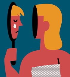 Im 13 and I hate what I see in the mirror. on Behance Illustration design art Art And Illustration, Illustration Inspiration, Character Illustration, Graphic Design Illustration, Graphic Art, Illustration Editorial, Animal Illustrations, Illustrations Posters, Desenho Harry Styles