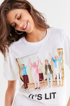 F*ck Jerry + UO Lit Grannies Tee   Urban Outfitters