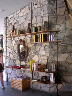 Shelving . . . Ace Hotel Palm Springs/Becky Harris - modern - spaces - los angeles - Becky Harris