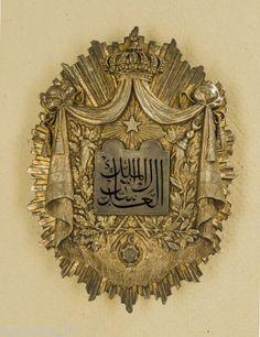 EGYPT-KHEDIVE-SILVER-GILT-ENAMEL-JUDGE-BADGE-TOP-GRADE-EXTREMELY-RARE