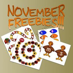 FREE! November Activities from The T.L.C. Shop on TeachersNotebook.com -  (13 pages)